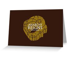 House Helix: Anarchy Reigns Greeting Card