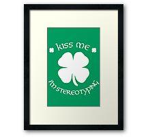 Snark Patrick's Day Framed Print