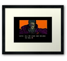 FOR GREAT JUSTICE. Framed Print
