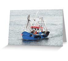 Trawler  Greeting Card
