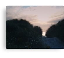 Dunes at Sunset Canvas Print