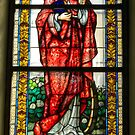 A window from Parish church of St. Bartholomew. by Lee d'Entremont