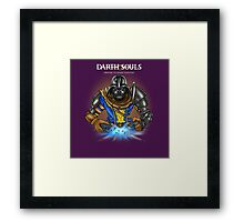 Darth Souls Framed Print