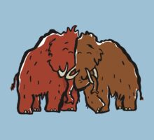 a couple of mammoth Kids Tee