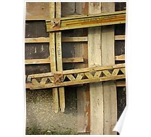 Wooden Structure No.3 Poster