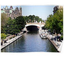 Rideau Canal, Ottawa, ON Poster