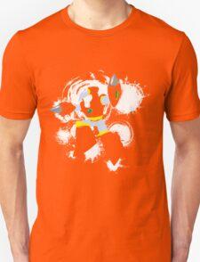 Crash Man Splattery T T-Shirt