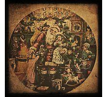 Old Christmas Box Photographic Print