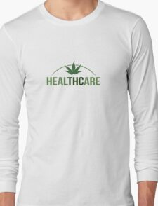 Healthcare - THC Marijuana/Cannabis Long Sleeve T-Shirt
