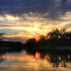 White Clay Creek Sunset by M.Reder Photography