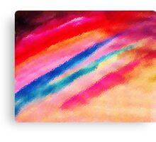 The Jewel handed to us, watercolor Canvas Print