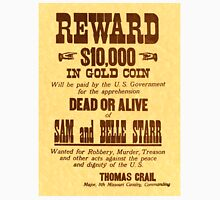 Sam and Belle Starr Wanted Unisex T-Shirt
