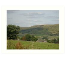 In the Valley - Peak District Art Print