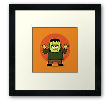 The Nice Monster Framed Print