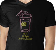 No T, No Shade, No Pink Lemonade 2.0 Mens V-Neck T-Shirt