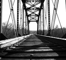 Weathered Rails - Bastrop TX by Benjamin  Saucedo