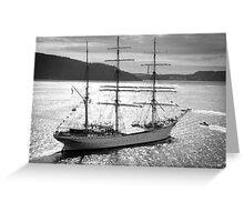 Sailing Light Greeting Card