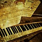 Grungy Piano by PaulMahar