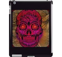 Sugar Skull Day Of The Dead iPad Case/Skin
