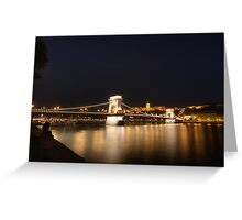 By The Danube Greeting Card