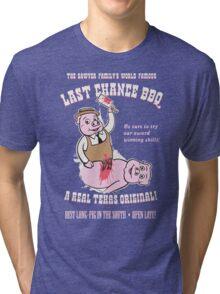 LAST CHANCE BBQ Tri-blend T-Shirt