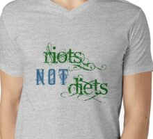 Riots Not Diets (Green and Blue) T-Shirt