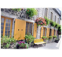 Rue de Petit Champlain Poster