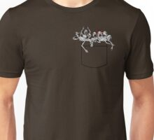 Pocket messengers from Bloodborne  Unisex T-Shirt