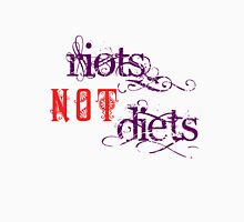 Riots Not Diets (Purple and Red) T-Shirt