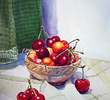 Cherries in the Bowl and Beyond by Irina Sztukowski