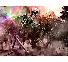 Skeletal War Majician Photographic Print