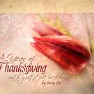 &quot;A Year of Thanksgiving&quot; Christian Scripture Art Calendar by StacyLee
