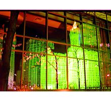 Wrigley reflections, Chicago Photographic Print