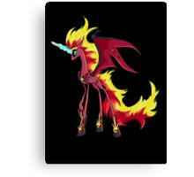 My Little Pony - MLP - Nightmare Sunset Shimmer Canvas Print