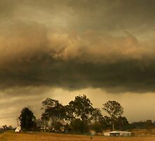 Thunderstorm Gustfront by SouthBrisStorms