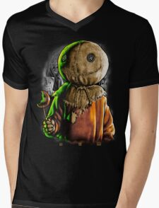 Trick r Treat Mens V-Neck T-Shirt