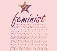 Feminist Star Kids Clothes