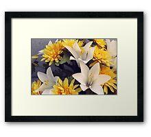 Golden Beauty Framed Print