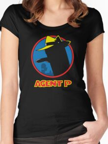 Agent P Women's Fitted Scoop T-Shirt