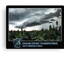 Branded: Darling Downs Thunderstorms II Canvas Print