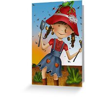 The Fly Swat Greeting Card