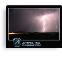 Branded: Lightning Strikes Canvas Print