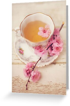 Cherry Blossoms and Tea  by HayleyJohnson