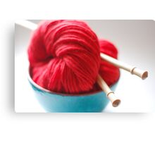 Raggedy Andy Handspun Yarn Canvas Print