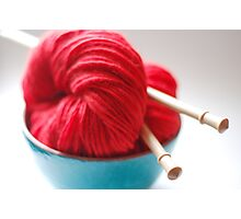 Raggedy Andy Handspun Yarn Photographic Print