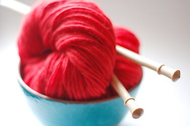 Raggedy Andy Handspun Yarn by edarlingphoto