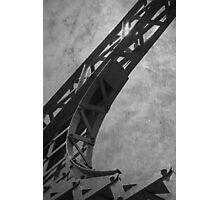 Blue Steel Photographic Print