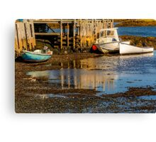 Blue Rocks, Nova Scotia Canvas Print