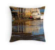 Blue Rocks, Nova Scotia Throw Pillow