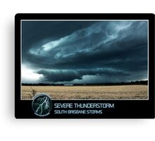 Branded: Severe Thunderstorm Canvas Print